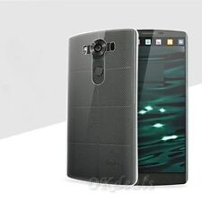 Slim Hybrid TPU Rubber Silicone Gel Hard Protective Clear Case Cover For LG V10