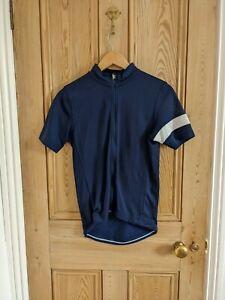 Rapha Classic Short Sleeve Jersey Small Navy