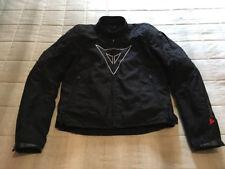 Stupenda giacca Dainese in tessuto tag. 48 nero...