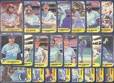 HUGE Lot of 20 Different Kansas City Royals Team Sets 1986 to 2005 George Brett