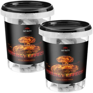 ENERGY EFFECT 150 - 570 Tabletten Koffein Muskelaufbau Diät Testo Booster extrem