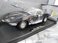 CHEVROLET Corvette Mako Shark Concept 1961 blue blau V8 Muscle Motormax 1:18
