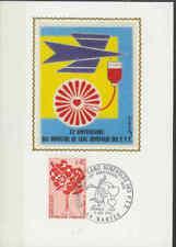 Frankrijk FDC Carte 1972 (003) - Benevoles des PTT