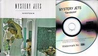 MYSTERY JETS Serotonin 2010 UK 11-trk watermarked/numbered promo test CD