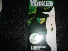 **Wicked Flyer Opens as 3 At Sunderland Empire 31st March - 25th April 2015 Grea
