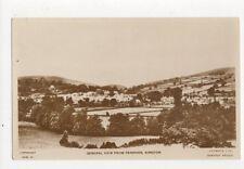 General View From Penrhos Kington 1943 RP Postcard  234a