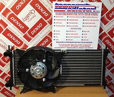 Radiatore + Ventola Fiat Panda 1.1 Benzina / 4x4 dal '00 al '02. NUOVO !!!
