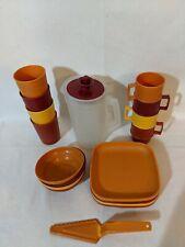 Vintage Tupperware Toys Mini Childrens Kitchen Set 19 pieces