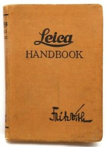 Excellent Leica Handbook (308 Pages) 1933 #P4482