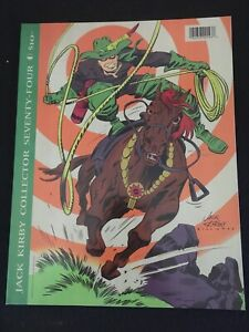 JACK KIRBY COLLECTOR #74 F+ Condition