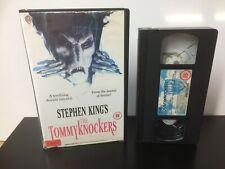 The Tommyknockers ~ Stephen King - EX Rental - Big Box - VHS Tape