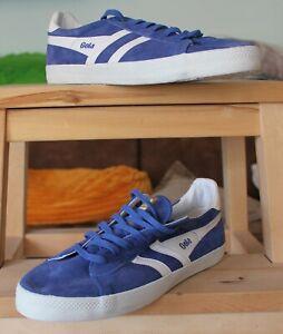 Gola Herren Sneaker Typhoon Low Gr. 45 cooles Blau - Weiß