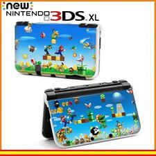 Funda Protector Nintendo New 3DS XL Carcasa Dibujos Mario y Luigi Saltando