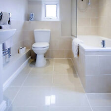 MOLEANOS WHITE POLISHED LIMESTONE FLOOR & WALL TILES 600x400x10mm £51.99 PER SQM