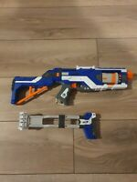 Nerf Elite Spectre Rev 5 Blaster With Extended Stock Rest And Bullets