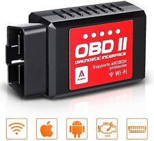 OBD2 WIFI Diagnosi Auto Scanner Lettore di Codici IOS Android Windows ELM327