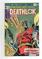Astonishing Tales Vol 1 No 31 Aug 1975 (VFN) Featuring Deathlok