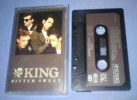 KING BITTER SWEET PAPER LABELS cassette tape album T6382