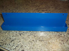 "EVERY CRAFTSMAN NEEDS A COBALT BLUE POWDER COATED STEEL 1/2"" SOCKET SET TRAY"