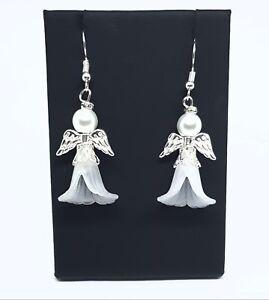 Large Christmas Angel Earrings - Christmas Stocking filler
