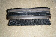 Vtg Swank Cowhide Men's Travel Case Brush Leather *W6464*