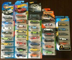 Hot Wheels Lamborghini Zamac Lot VHTF🔥🔥🔥