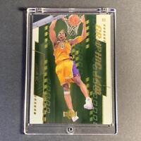 KOBE BRYANT 2000 UPPER DECK #G1 GRAPHIC JAM GOLD FOIL INSERT CARD NBA LAKERS HOF
