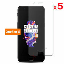 Clear PET Mobile Phone Screen Protectors for OnePlus 5