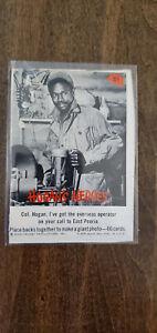 1965 FLEER HOGANS HOGAN'S HEROES CARD HOGAN OVERSEAS OPERATOR EAST PEORIA # 51