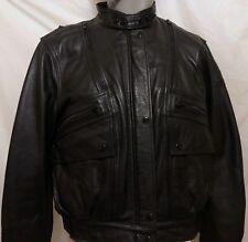 Hein Gericke Leather Motorcycle Jacket Size 40 W Biker Moto Riding Vents Biker