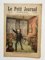 Supplément Illustré Le Petit Journal 16/12/1893, N°160, TETES TURC ROCHEFORT