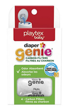 Playtex Baby Diaper Genie Carbon Filter Sachet Refill - 4 Count
