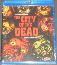 THE CITY OF THE DEAD usa blu-ray NEW christopher lee REMASTERED limited edition