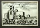 La Sainte Church Of Jerusalem Per Olfert Dapper 1677, engraving Original