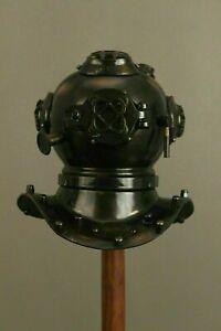 Antique U.S Navy Mini Divers Diving Helmet Steel And Brass Vintage Handmade Gift