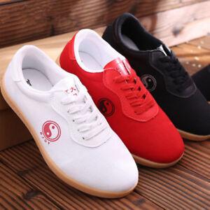 BreathableTai Chi  Cloth Shoe Martial Arts Tai Chi Kung fu Shoes Casual Sneakers