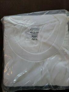 **Stafford 3-Pack Men's Heavy Weight 100% Cotton Crew-Neck T-Shirt White**