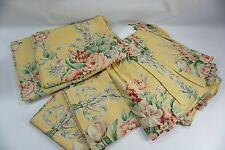 "RALPH LAUREN-VINTAGE ""EVELYN"" 5 Piece Set Rare FULL Size Bed Skirt Cases Sheets"