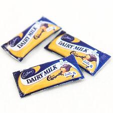 1PCS x Cadbury Dairy Milk Caramel Miniature Dollhouses Food Supply 1:12 A1420
