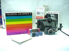 Vintage Polaroid Colorpack II Land Instant Camera S# C4L9253A