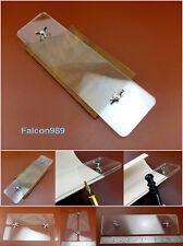 Leather Craft Acrílico Tintura Bruño Slick puntada de borde Clip Pony herramienta auxiliar