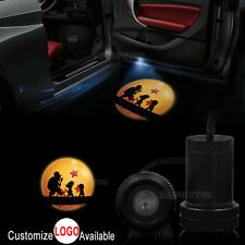 2x Car Door Dragonball Z master Goku Silhouette LED Laser Projector Shadow Light
