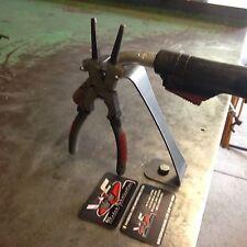 MIG Torch Stand w/ Built In Welding Pliers Holder - Welding Welder Custom Shop