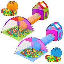 Tienda de campaña para niños infantil iglú con túnel + 200 bolas + bolsa