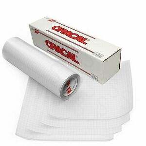 """Oratape -Clear Transfer Tape MT80P - 12""""x5' roll-use with Oracal 631 & 651 Vinyl"""