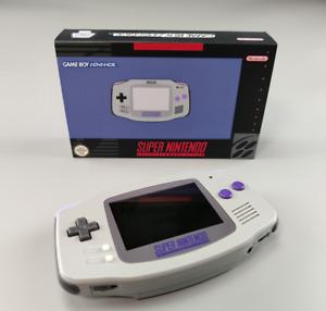 DIY Game Boy Advance GBA IPS V2 BACKLIGHT BRIGHTNESS ADJUSTMENT SNES style