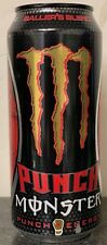 NEW MONSTER PUNCH BALLER'S BLEND ENERGY DRINK 16 FL OZ FULL CAN RARE DUB EDITION