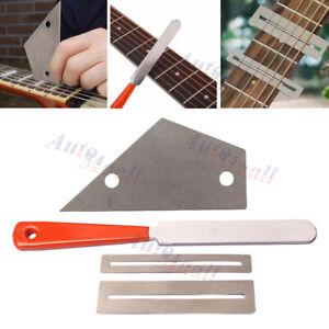 Guitar Fret Crowning Luthier File Leveling Rocker Grinding Tool Kits Repair Tool