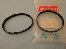 WEBRA T4- 40 FOURSTROKE MODEL ENGINE TIMING BELT . Reproduction