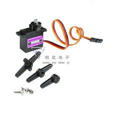 1PCS MG90S Micro Metal Gear 9g Servo for RC Plane Helicopter Boat Car